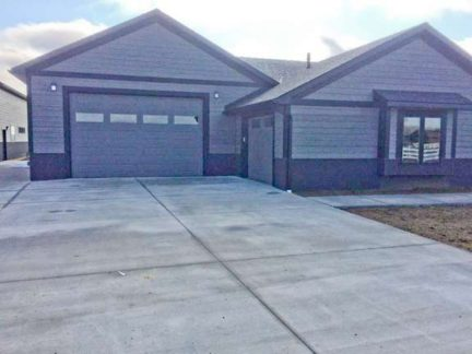 Ryan/Staci - Billings Mt Thank You -Its was great fun watch your house come together! Great Doors -RC-16's w/glass Great look -