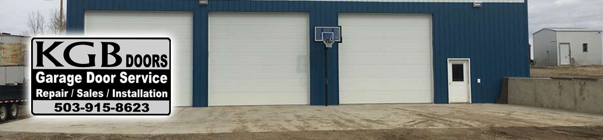 Beaverton overhead door installation maintenance kgb doors for Garage door repair salem oregon