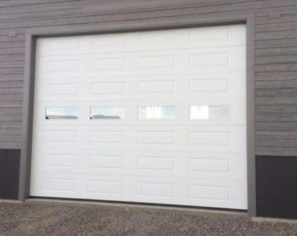 "KGB DOORS New construction. Steel Craft T-16Thermocraft on commercial 3"" hardware. Best door/hardware available"
